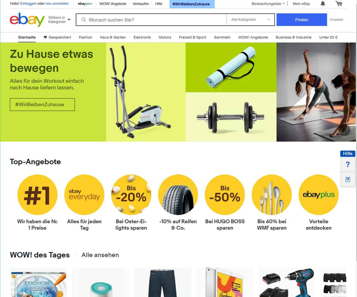 EVITA´s ebay store & reviews
